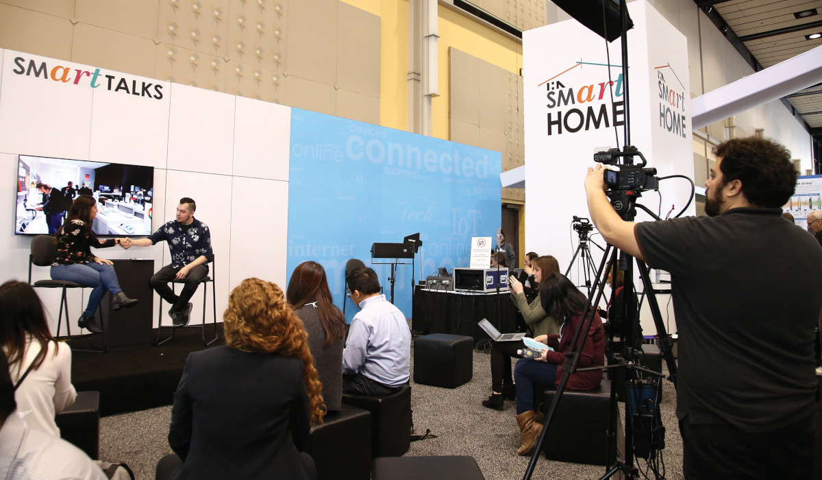 Smart Home Experts at International Home + Housewares Show